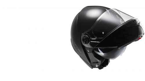LS2 Strobe Solid Matt Black FF525