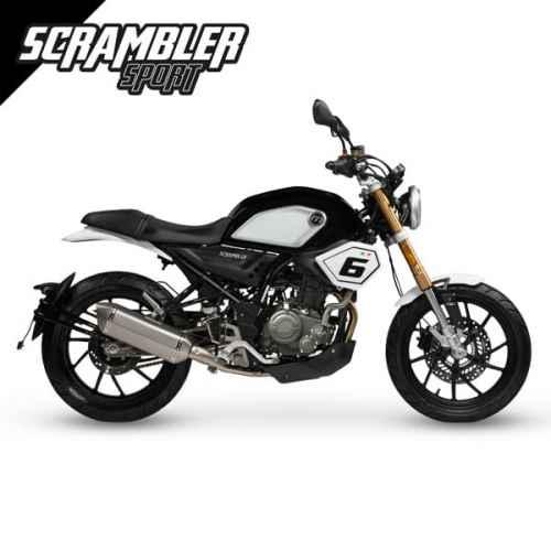 Scrambler Sport 125